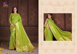Banarasi Art Silk Green Saree