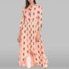 Pure-Cotton-Rayon-Peach-Kurta-LookWhatIChoose